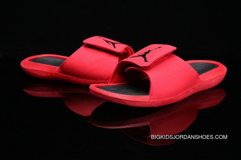 purchase cheap 55c2e 402b2 Air Jordan Hydro 6 Sandals 881473-600 881474-6017 Red Super ...