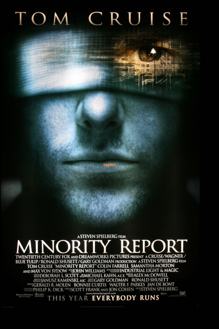 Minority Report es una película de ciencia ficción de 2002 dirigida por Steven Spielberg, basada en un relato corto de 1956 de Philip K. Dick titulado El informe de la minoría. Está interpretada por Tom Cruise, Colin Farrell, Samantha Morton y Max von Sydow, entre otros. #MinorityReport #TomCruise