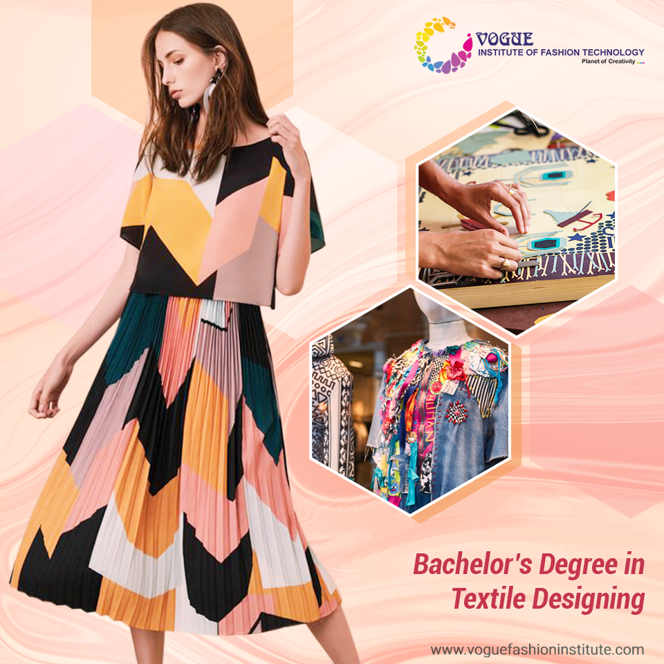 Fascinated With Fabrics Patterns Materials And Textures Take Up The Bachelor S Degree In Textile Designing At Th Technology Fashion Textile Design Fashion