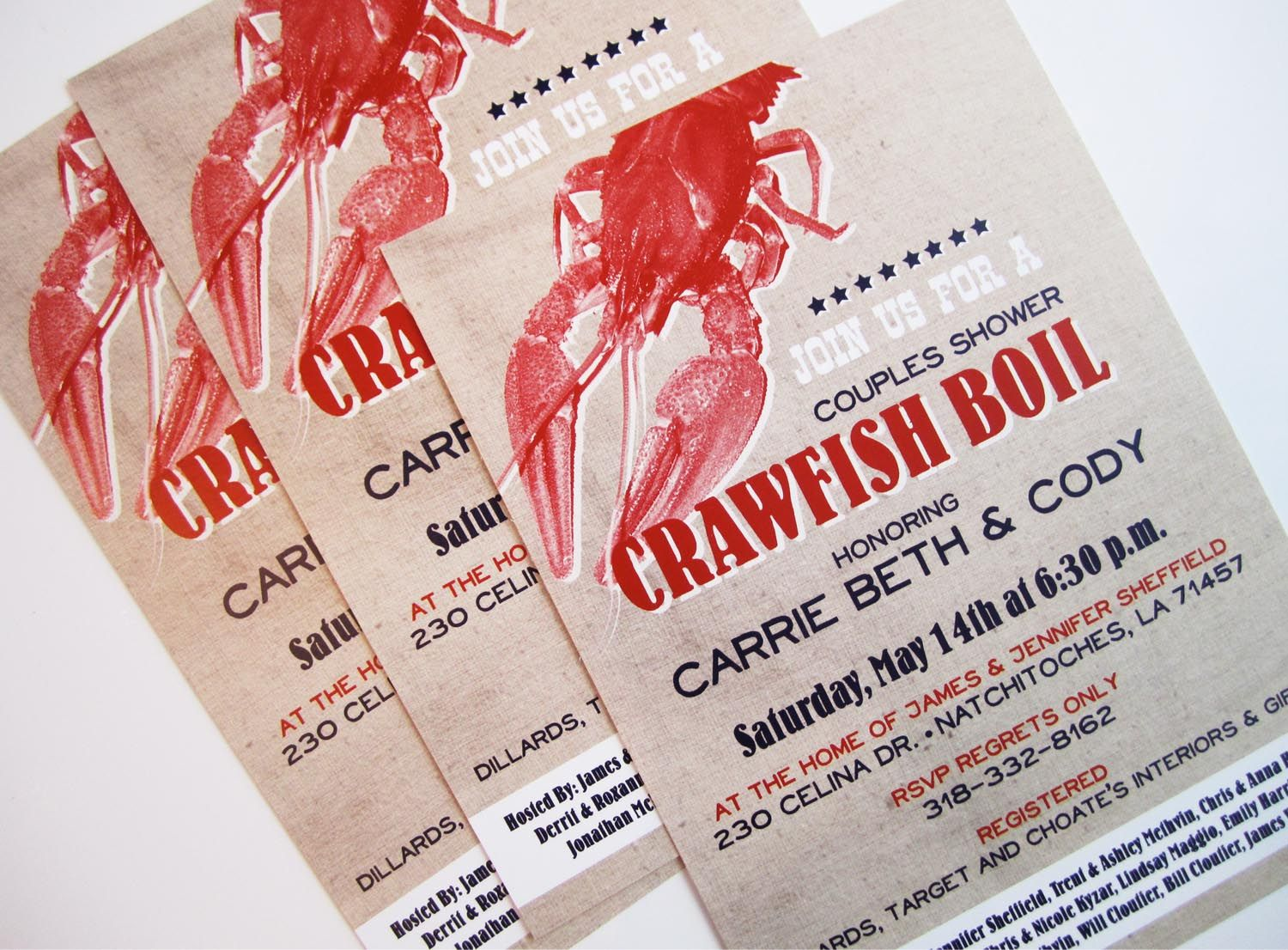 couples baby shower crawfish boil | Pinch of Lovely: Crawfish Time ...