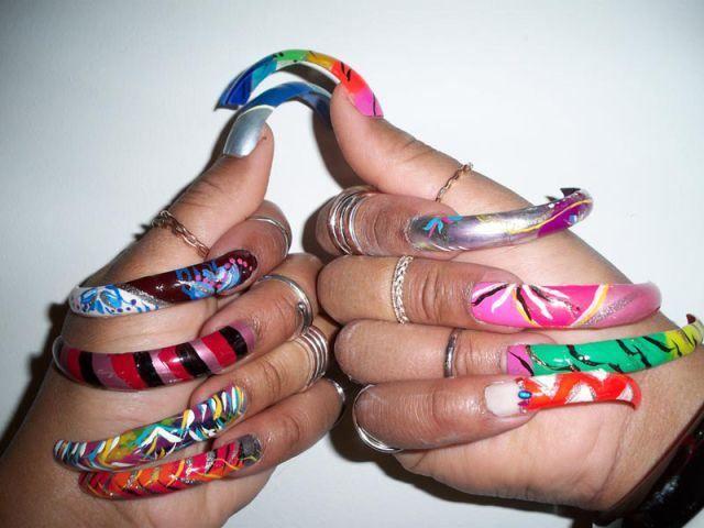 Long Natural Nails   Real Long Natural Nails   Extremely Long Nails ...