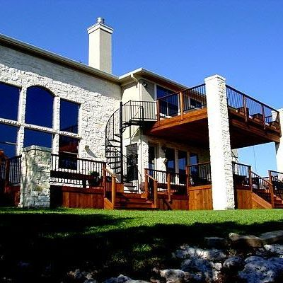 Best This Large Custom Project Has Everything A Large Deck For 400 x 300