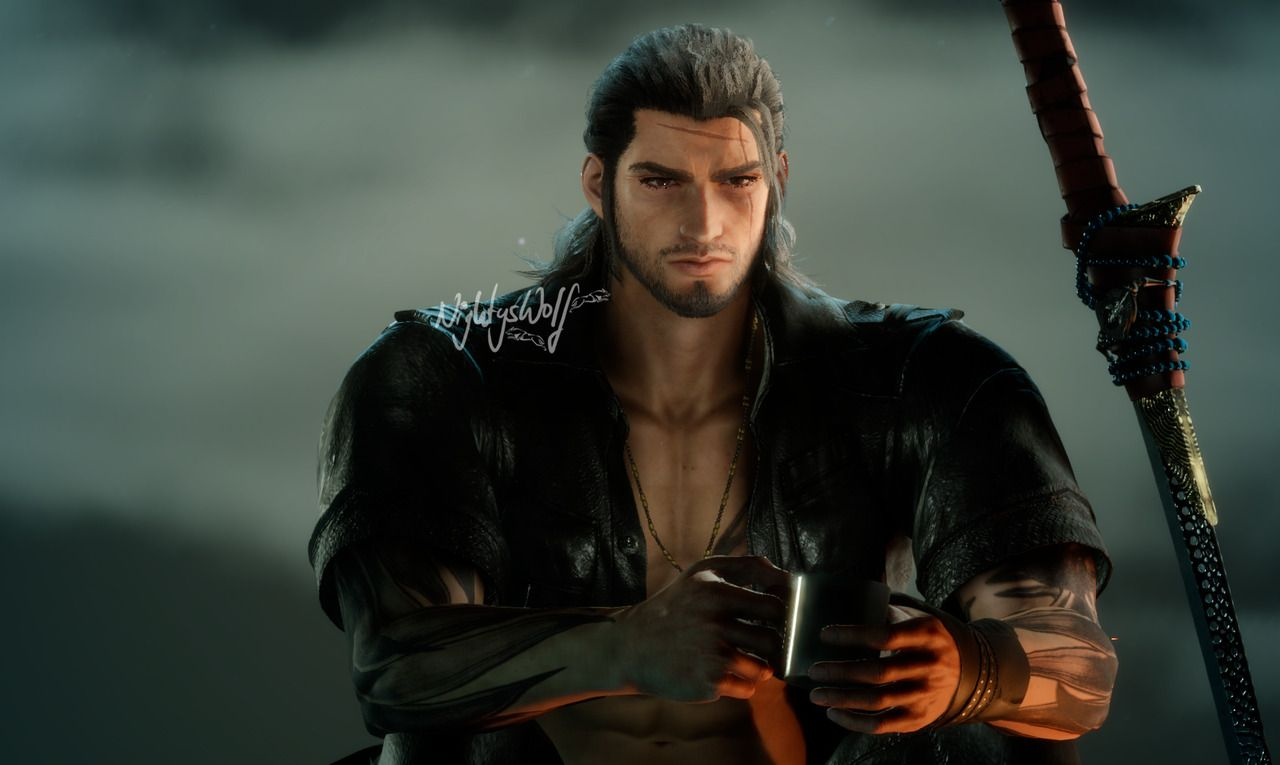 I forgot to remove a mod before I started up Gladio's episode, but