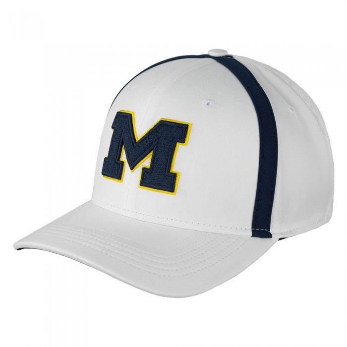 411e6093778e4 University of Michigan 2017 Jumpman Sideline Aerobill Coaches Adjustable Hat  At Campus Den