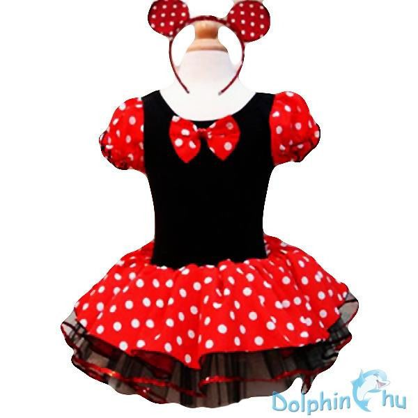 Kids Girls Baby Minnie--Mouse Costume Birthday Party Tutu Dress with Headband UK