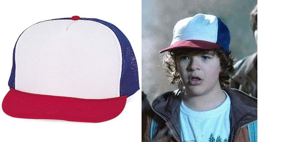 244b90ffefce1 Stranger Things Dustin Toothless HAT Cap Halloween Costume Retro Vintage Cap …