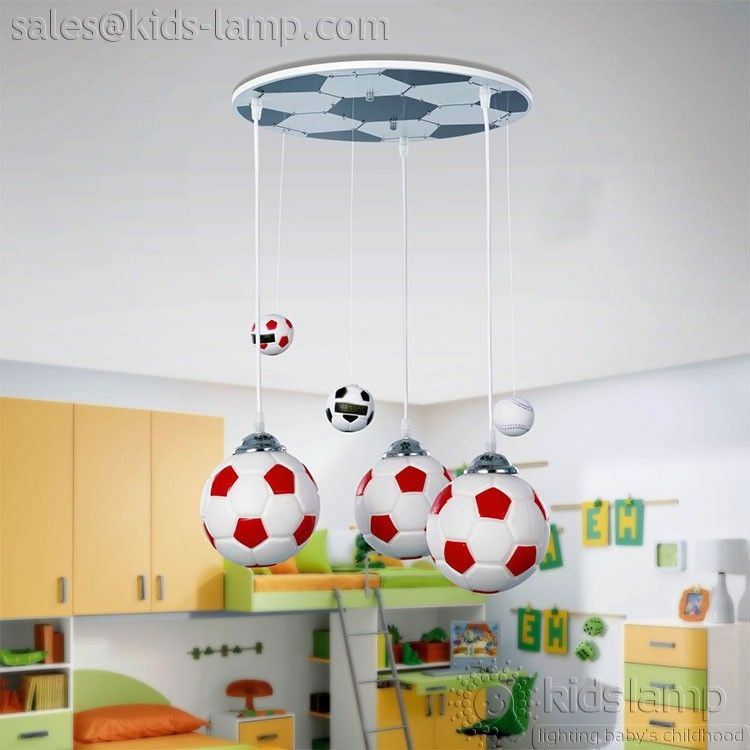 MOST POPULAR WORLD CUP FOOTBALL BOYS ROOM CEILING LIGHTS Kids - Boy lamps for bedroom