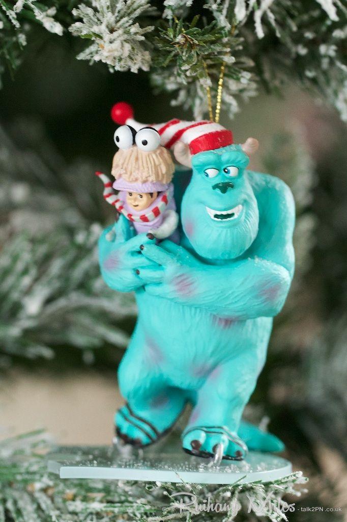 Disney's Sully & Boo Grolier Christmas Ornament - Disney's Sully & Boo Grolier Christmas Ornament DIsney Christmas