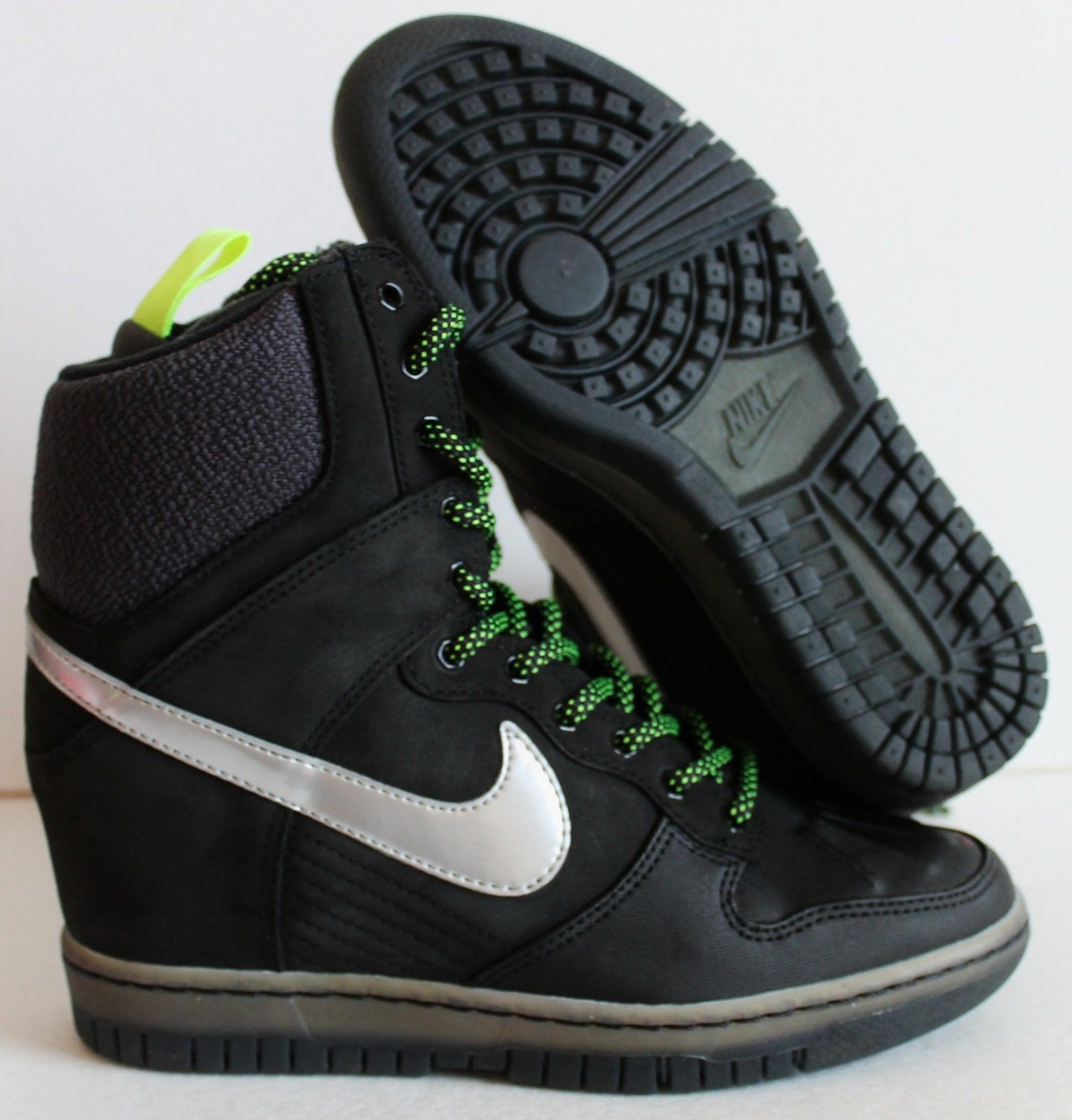 save off 54ce8 9dba6 esty runs shoes air max Nike DUNK SKY HIGH Sneakerboot 684954 001 New  Women s Black Shoes Boots Sz 7 US 109 75 Running Shoes USA Sale 2015