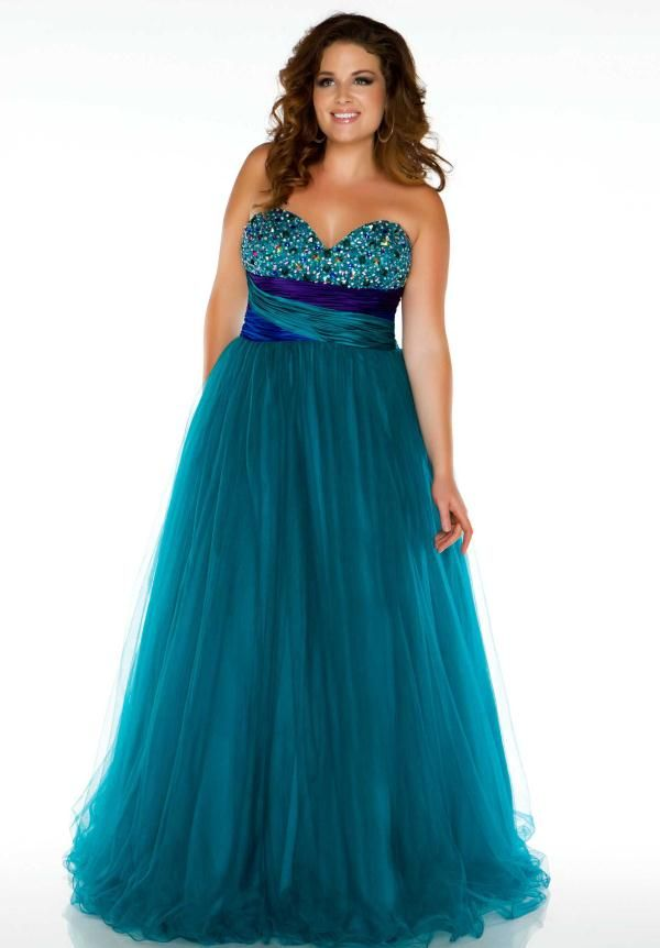 Plus Size Prom Dresses 2013