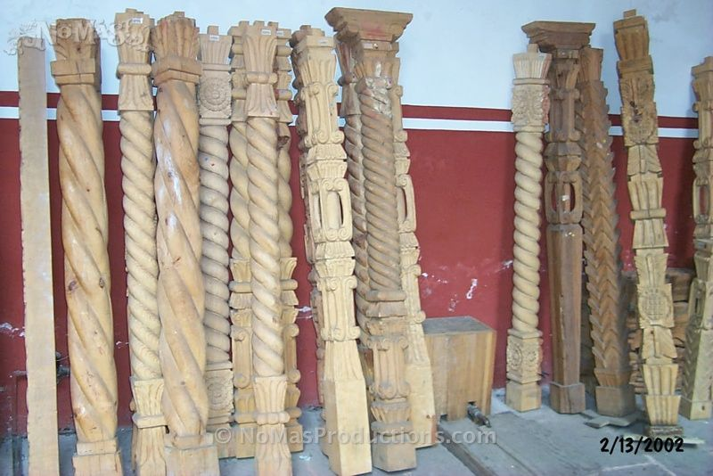 mexican carved wood posts - Google Search | Wood post, Wood, Wood ...