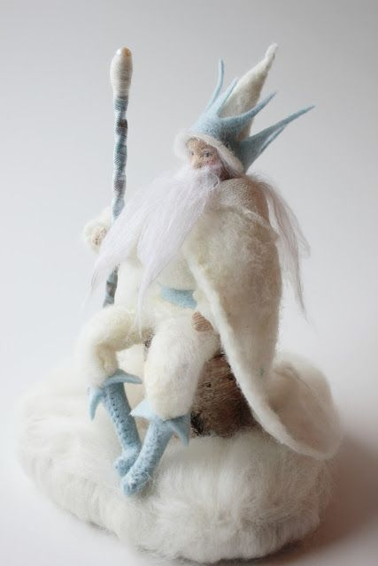 "King Winter from blog ""The Radish Fairy"""
