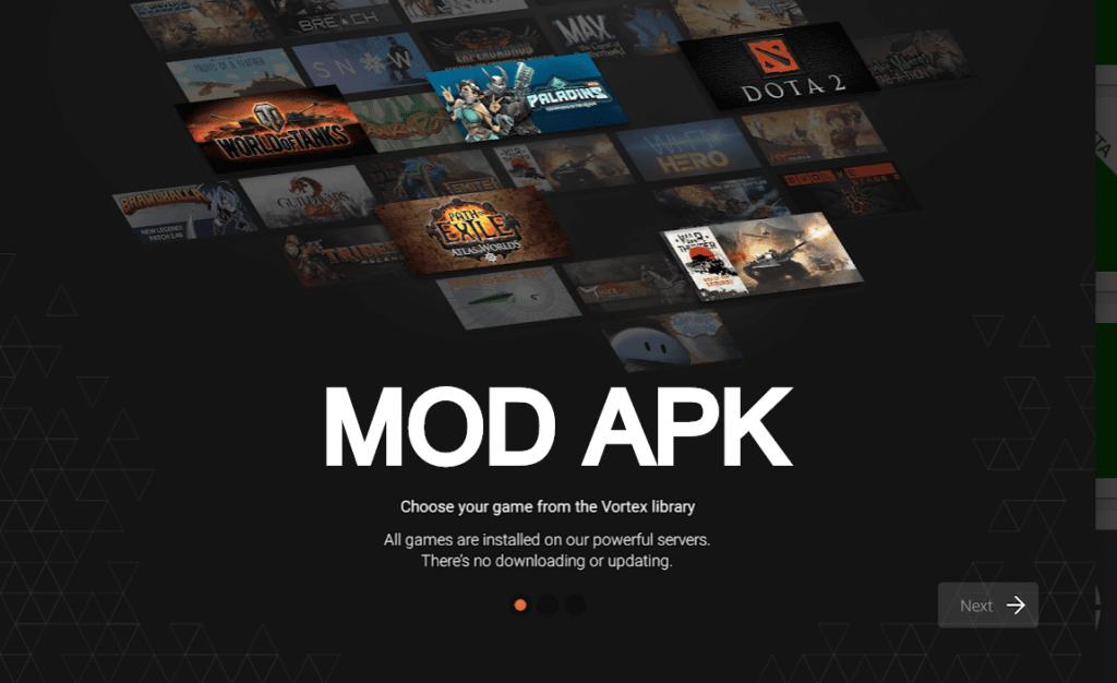 vortex cloud gaming mod apk Cloud gaming, All games, Vortex