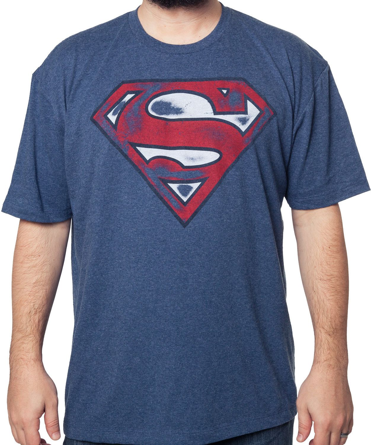 Cheap Price Outlet Sale Sale With Credit Card Superman Graffiti Logo T-shirt DC Comics Sale The Cheapest Buy Online Cheap Price XBbjI