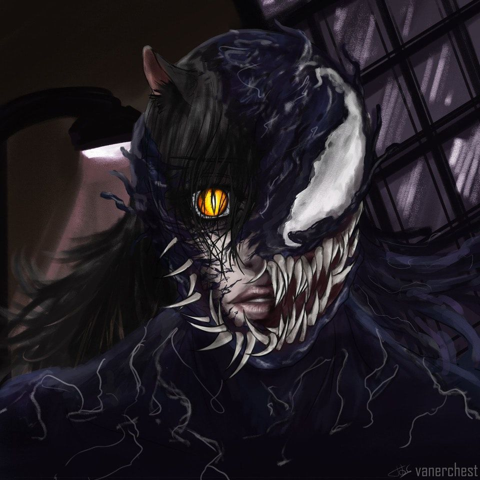 Blake but she   is Venom  By (Vanerchest) on Tumblr : RWBY   RWBY l