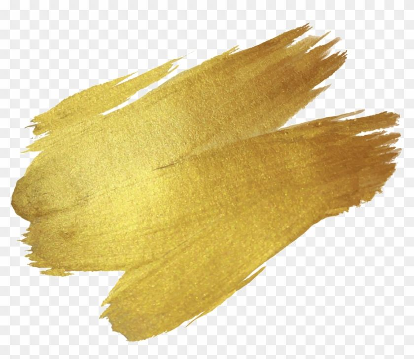 Brush Paint Gold Drawing Gold Brush Stroke Png Free Transparent Png Clipart Images Download Gold Drawing Brush Stroke Png Paint Icon