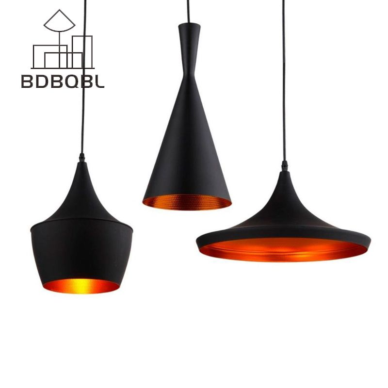Bdbqbl 3 Pieces Set Vintage Pendant Lights Loft Lamp Avize Nordic Pendant Lamp Suspension Luminaire Home Vintage Pendant Lighting Pendant Lighting Pendant Lamp