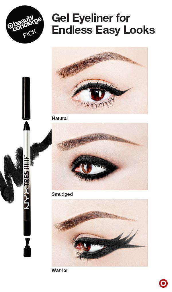 Nyx Professional Makeup Tres Jolie Gel Pencil Liner Pitch Black