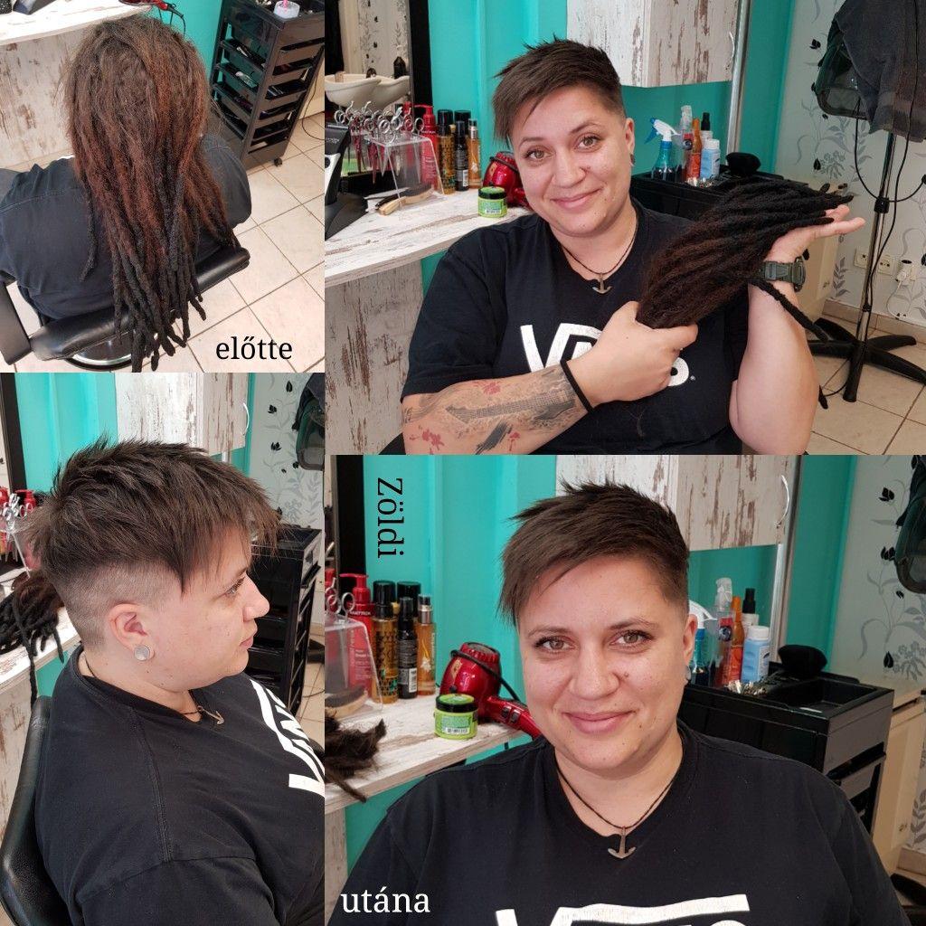 zöldiszilvia munkám mywork hajvágás haircut