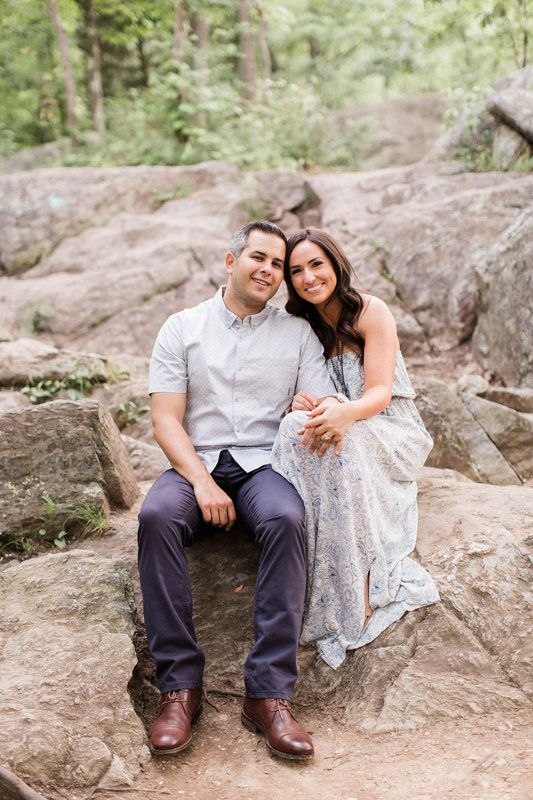 Jennifer + Alberto | Great Falls, VA Engagement |  VA DC MD Engagement + Wedding Photographer |  Candice Adelle Photography