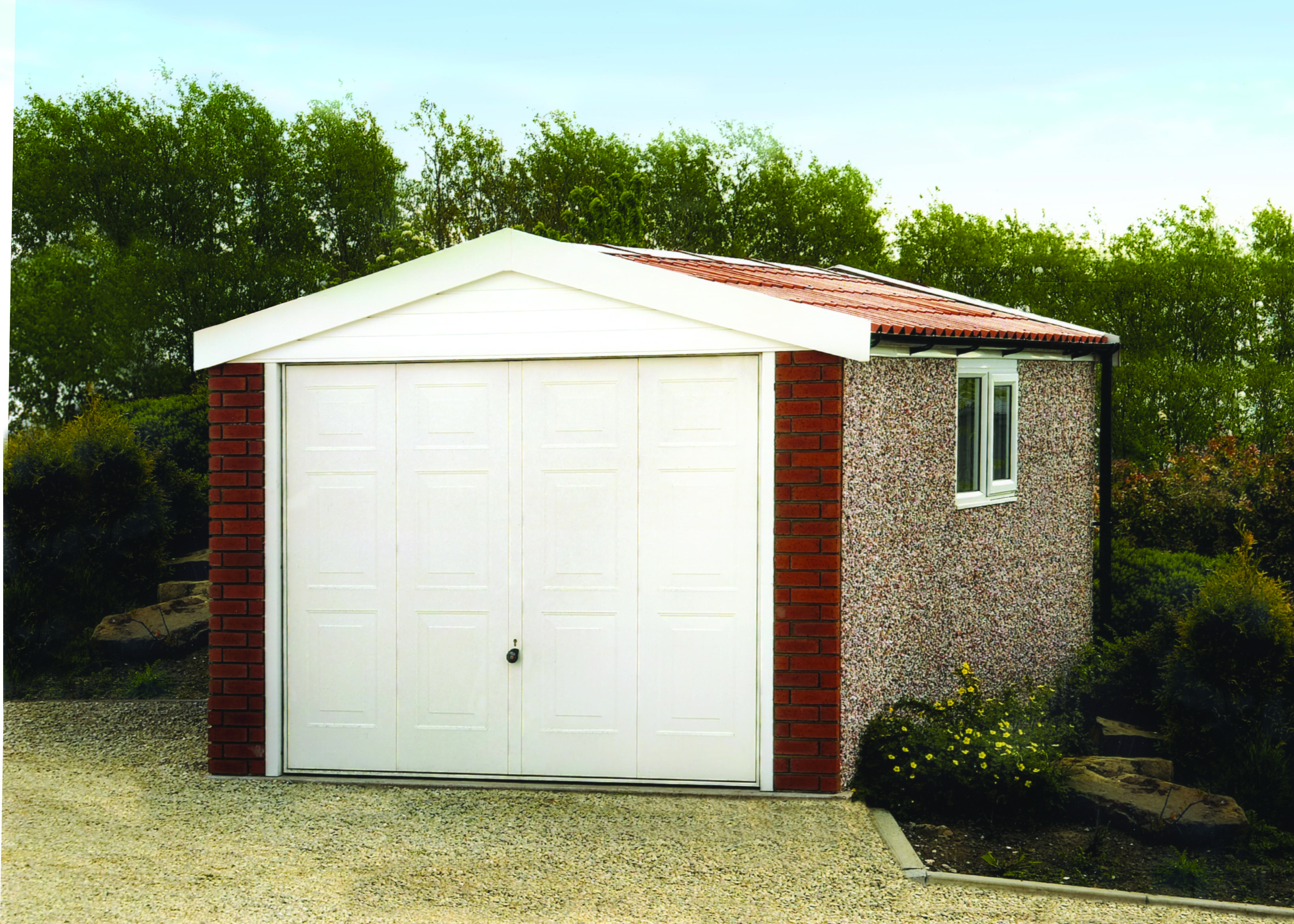 Best Apex 15 Roof Concrete Garages Concrete Sheds Concrete 640 x 480