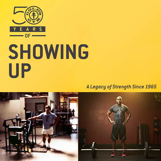 Gold S Gym 50th Anniversary Build Muscle Golds Gym Best Facebook Pages