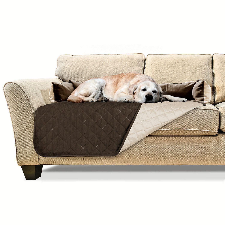Remarkable Furhaven Sofa Buddy Furniture Cover Dog Bed Espresso 42 L Creativecarmelina Interior Chair Design Creativecarmelinacom