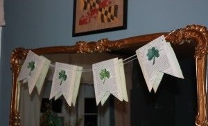 Easy paper bunting