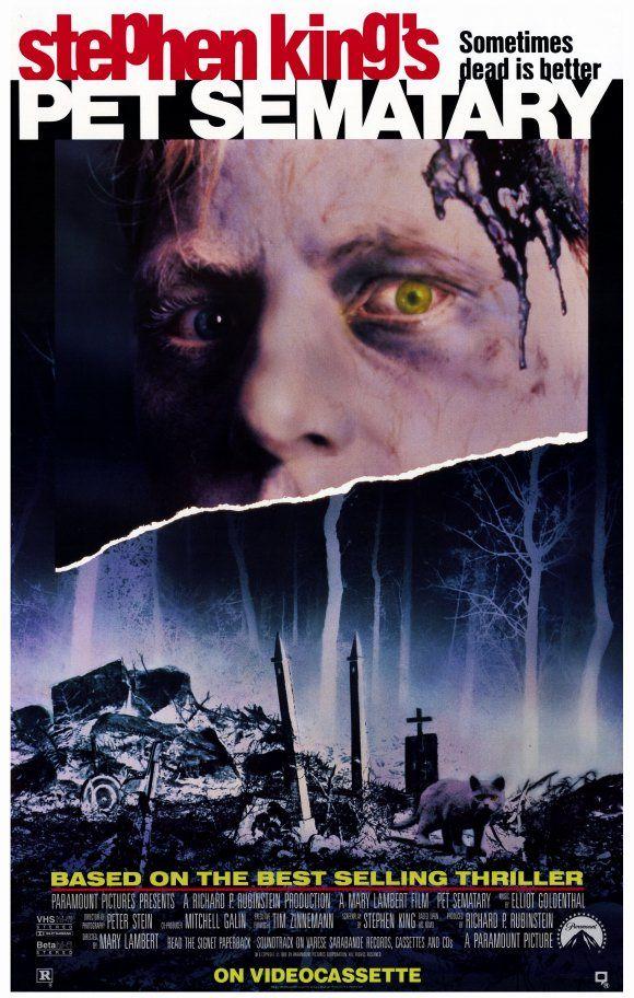Resultado de imagem para Pet Sematary 1989 posters