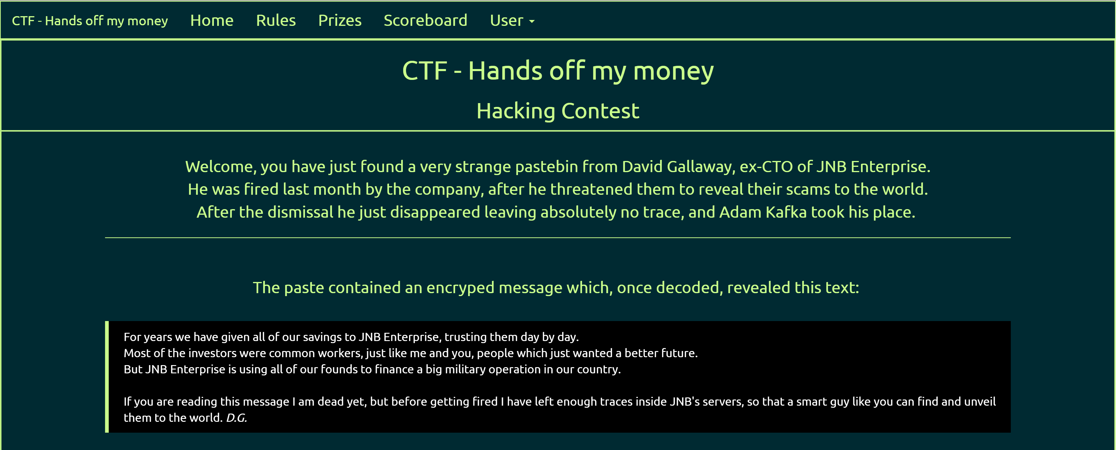 CTF - Hands off my money - http://www.oversecurity.net/2016/04/23/ctf-hands-off-my-money/