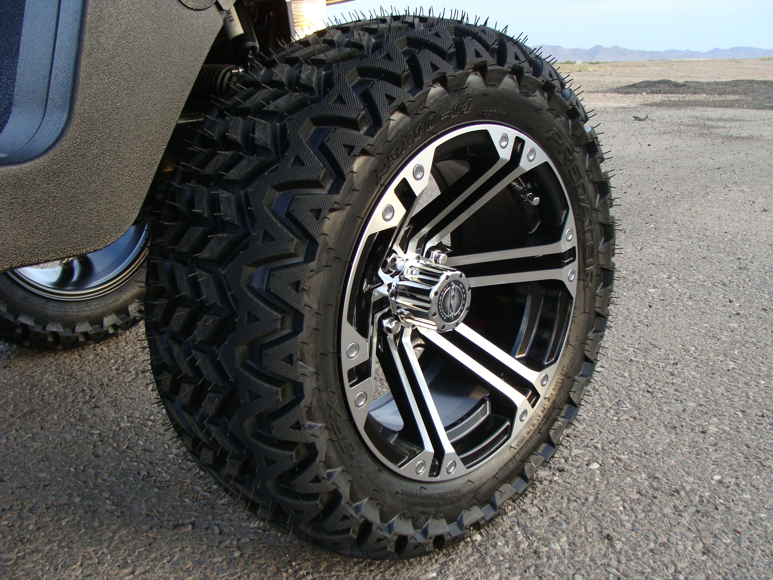 Lifted Gem Car Custom Wheels And Tires By Innovation Motorsports