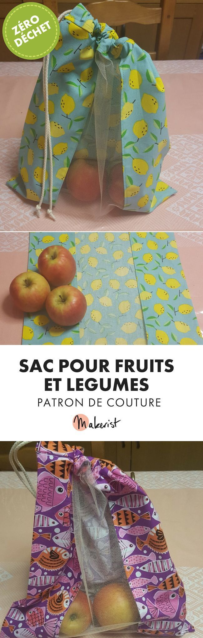 Patron de couture - sac fruits et légumes zéro déchet #couturezerodechet Sac pour fruits et légumes - Patron de couture PDF disponible sur makerist.fr #couture #food #wastefree #zerowaste #courses #responsable #diy #homediy #plasticfree #zerodechet #ecolo #coutureecolo #tuto #patron #patrondecouture #couturezerodechet #reutilisable #passioncouture #inspirationcouture #sacreutilisable #tutocouture#faitmain #coudrerendheureux #coudreavecmakerist #couture #couturefacile #makeristfrance #couture #couturezerodechet