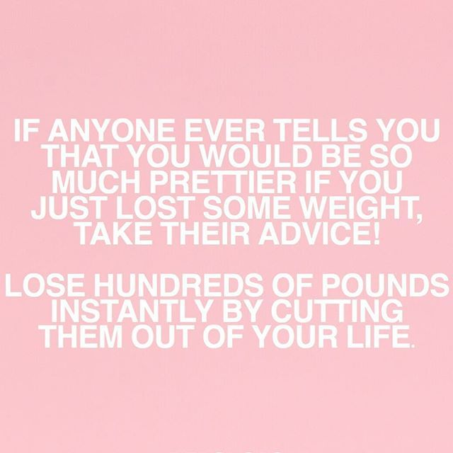 The quickest weight loss program TBH || Awesome quote by ...