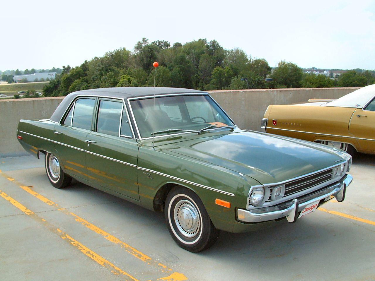 1972 Dodge Dart Custom 4 Door Sedan Dark Green Fvr 2004 Ww Wd