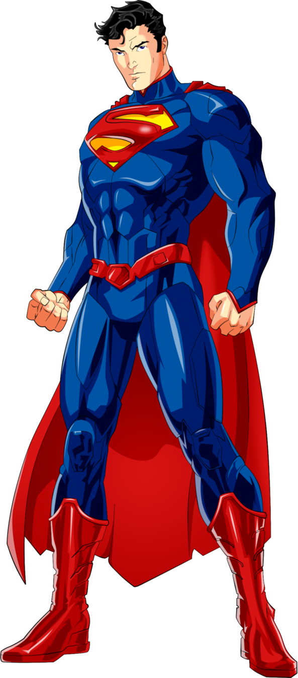 Superman anime by luffysan9 on deviantart dc comics personnages - Superman et batman dessin anime ...