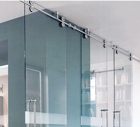 Herraje puerta corrediza de vidrio buscar con google for Herrajes puertas cristal