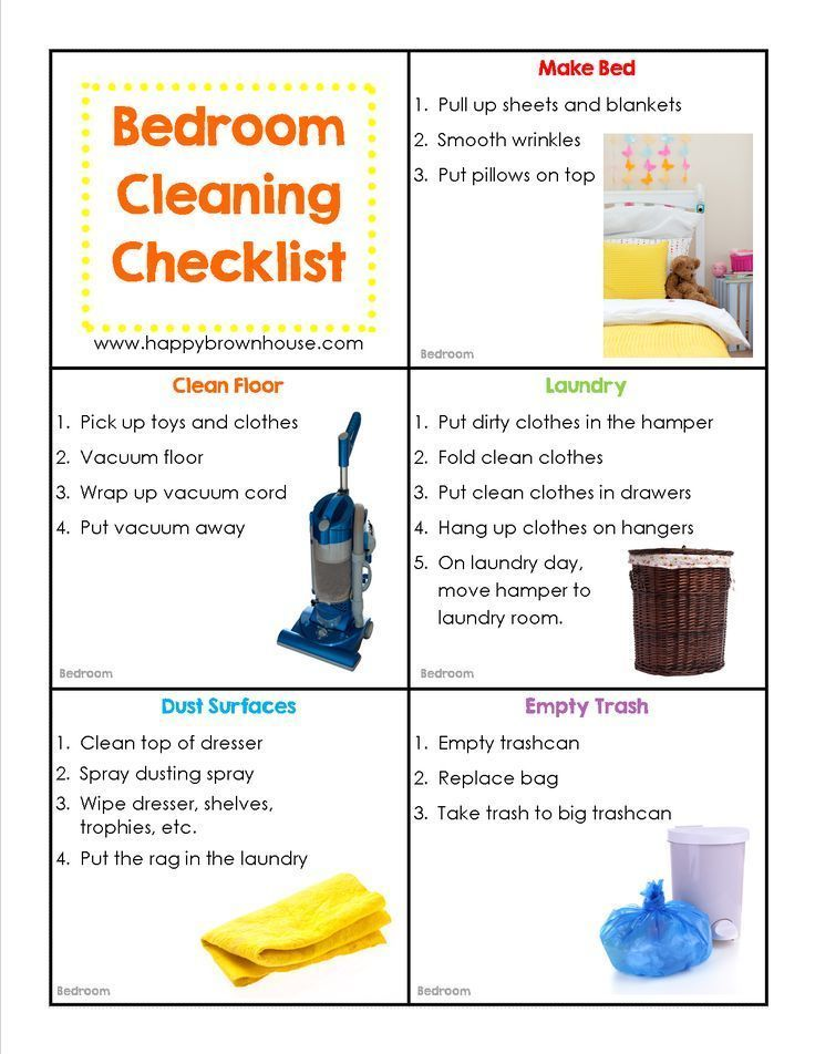 Editable Cleaning Chore Cards For Kids Everything For