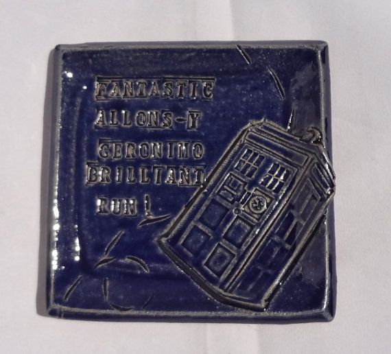 Time Lord ring dish wibbly wobbly timey wimey ring dish Dr Who ring dish