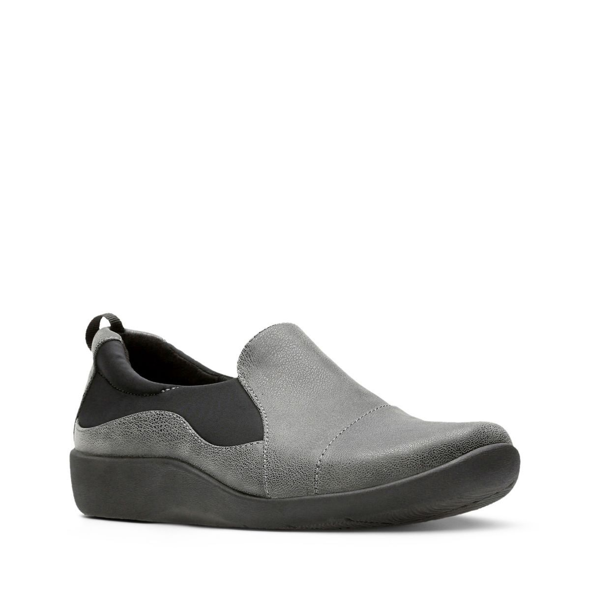 2841f609d19 Clarks Sillian Paz - Womens Shoes Grey 9.5 E (Wide) Out Of Stock Gray