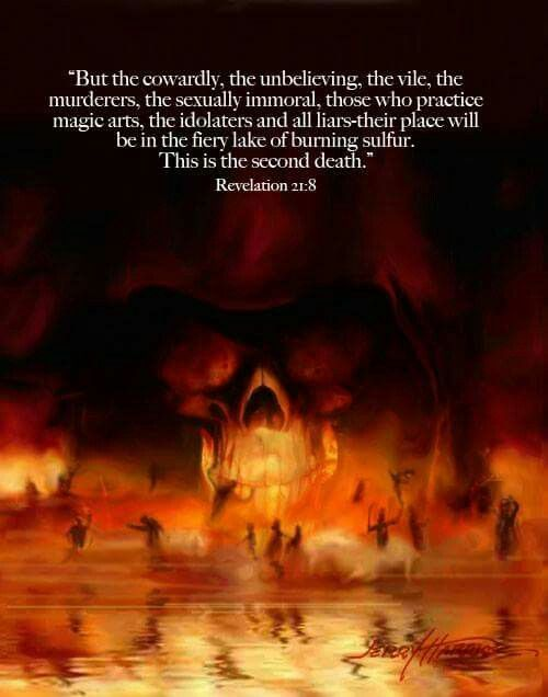 Image result for Revelation 21:8