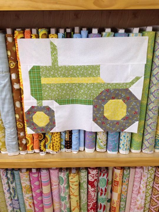 My First Block From Lori Holt S Farm Girl Vintage Now To