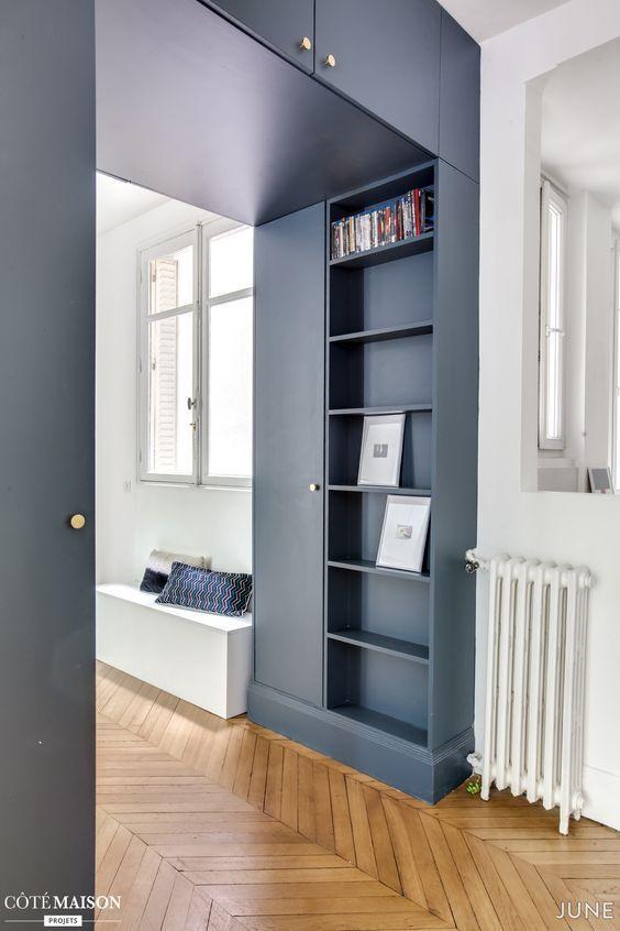 Rénovation complète d'une appartement parisien de 103m2