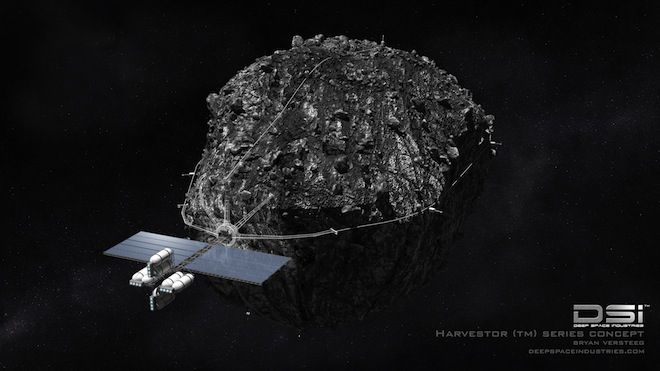 New Asteroid Mining Company Aims to Manufacture Products in Space ...