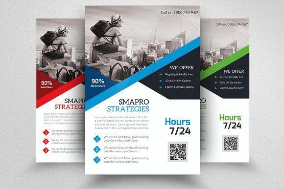 Job Expo  Career Fair Flyer by Design Up on @creativemarket