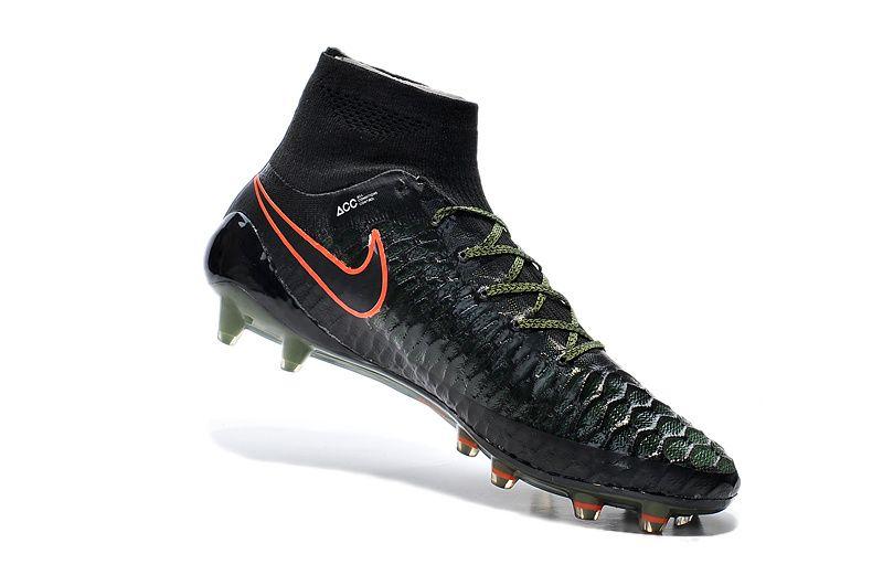 225d7c80236e Overstock Nike Magista Obra FG Black Rough Green Hyper Crimson  103.99
