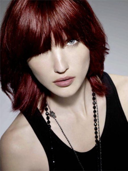 Mod le couleur cheveux violet rouge HAIR MAGIC