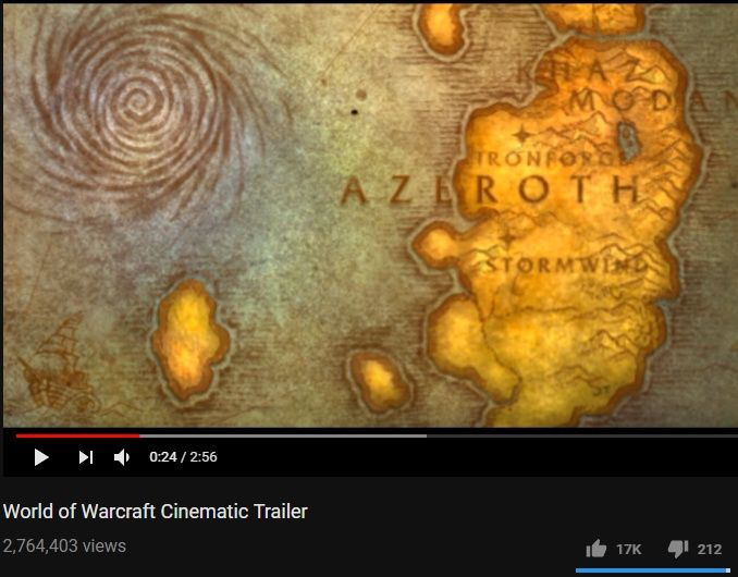 So was Eastern Kingdoms really called Azeroth in vanilla? Or is this ...