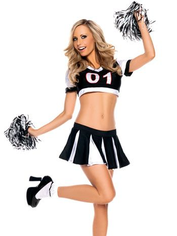 Sexy cheer leader costume