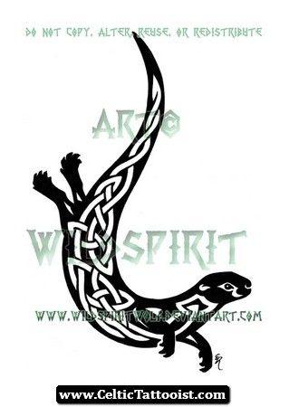 Celtic Otter Tattoo 08.jpg (319×450)