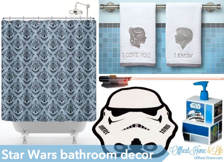 These Are The Super Subtle Star Wars Bathroom Items You Ve Been Looking For Offbeat Home Life Star Wars Bathroom Decor Star Wars Bathroom Star Wars Bedroom